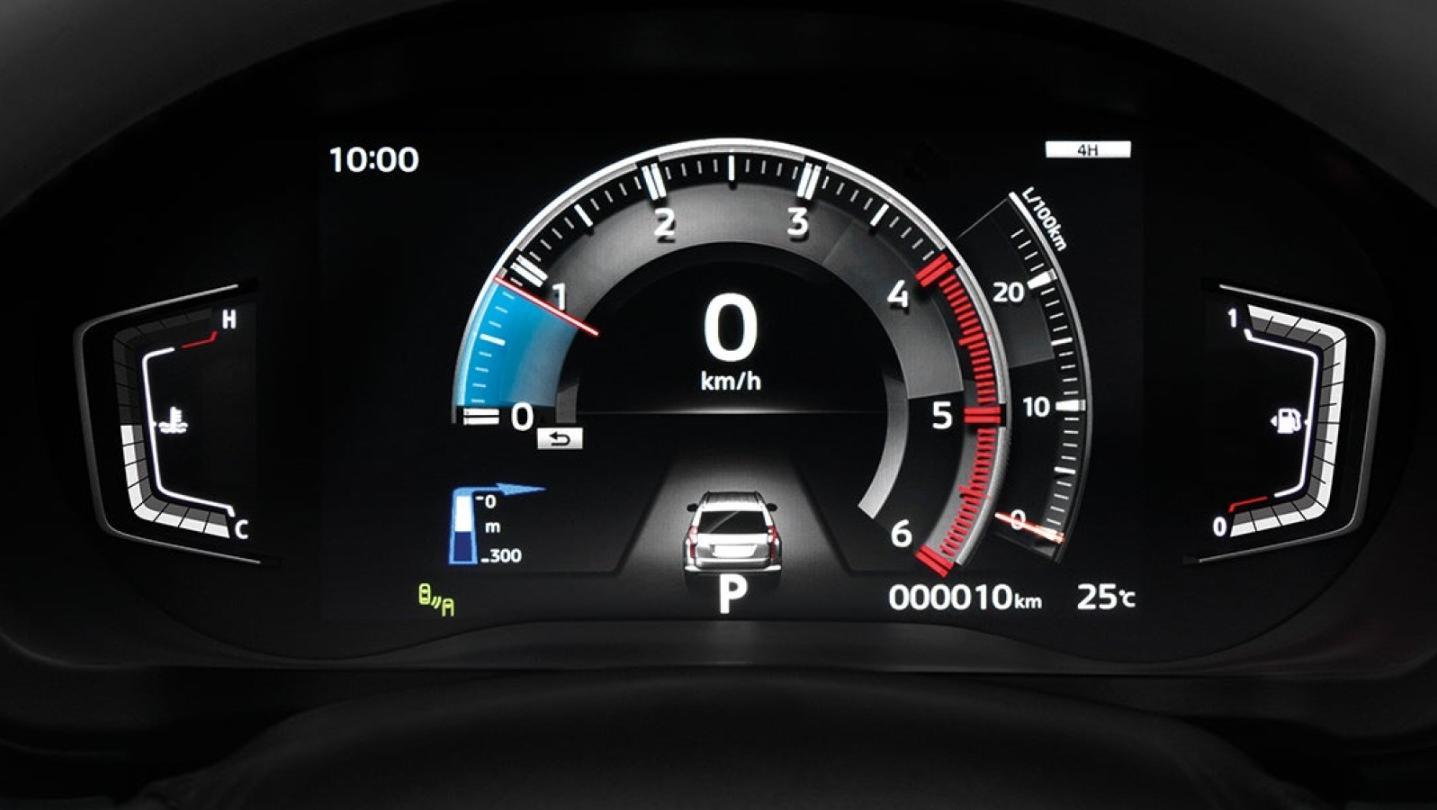 Mitsubishi Pajero Sport Public 2020 Interior 006