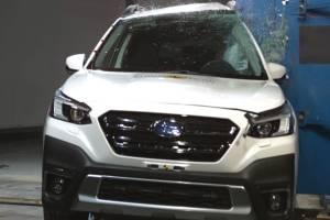 คุ้มค่าสมราคา 2021 Subaru Outback ได้คะแนนเต็มการทดสอบความปลอดภัย Euro ANCAP