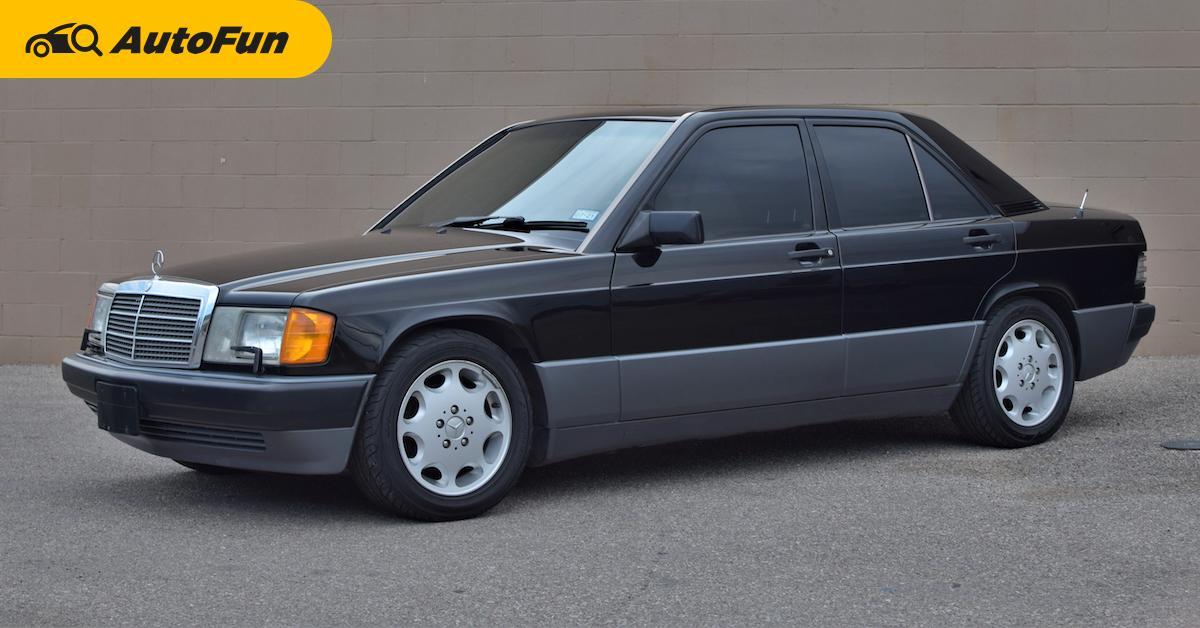 มือสองต้องรู้ Mercedes-Benz 190E รถคลาสสิคที่น่าซื้อในงบ 2 แสน เผยเทคนิคซ่อมใช้งานจริงที่นี่ 01