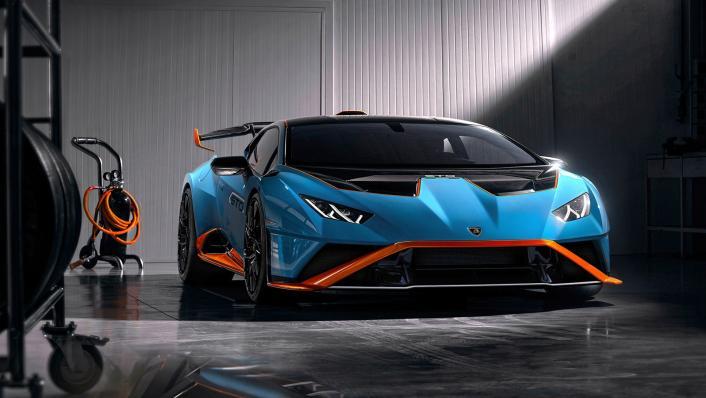 2021 Lamborghini Huracan STO Exterior 003