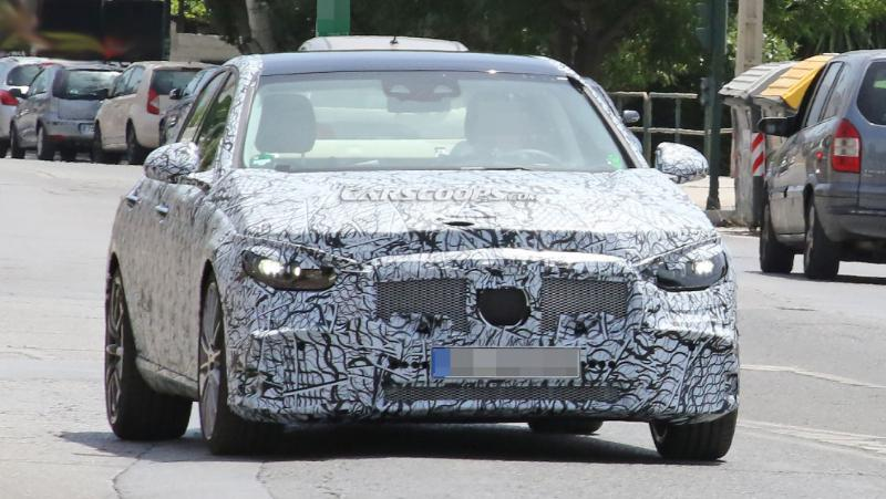 Spyshot Mercedes-Benz C-class 2021 รุ่นใหม่มาแล้ว พลิกโฉมไฟหน้าและท้ายใหม่ บอกลาเครื่อง 6 สูบในตำนาน  02