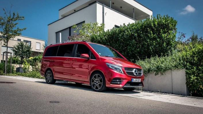 Mercedes-Benz V-Class 2020 Exterior 009