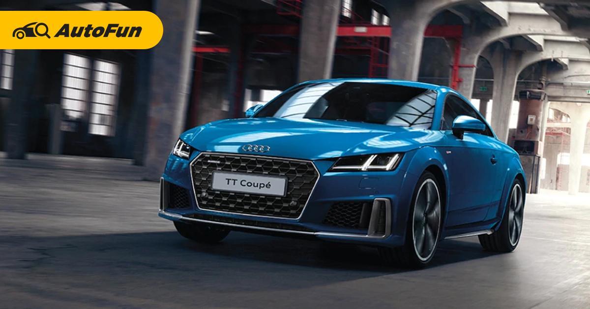 รีวิว 2020 Audi TT Coupe รถสปอร์ตเพื่อการใช้งานในชีวิตประจำวัน 01