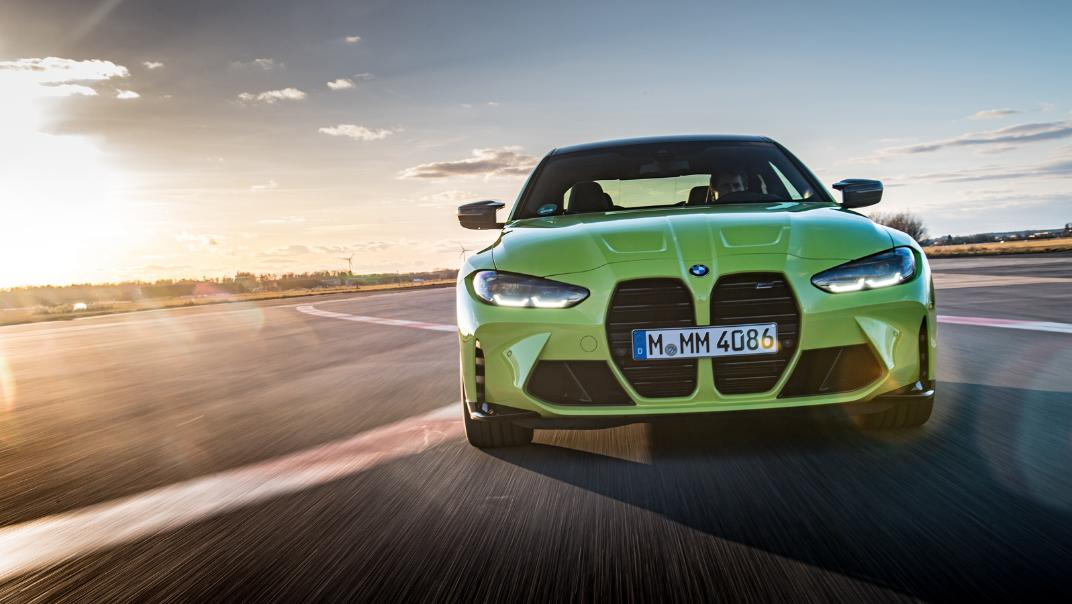 2021 BMW M4 Coupe Competition Exterior 017