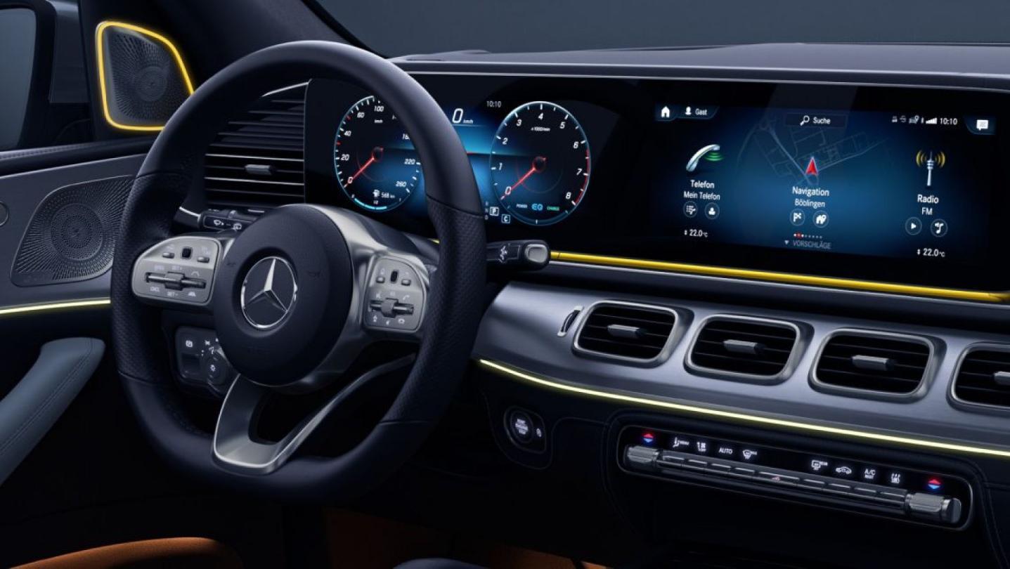 Mercedes-Benz GLE-Class 2020 Interior 012