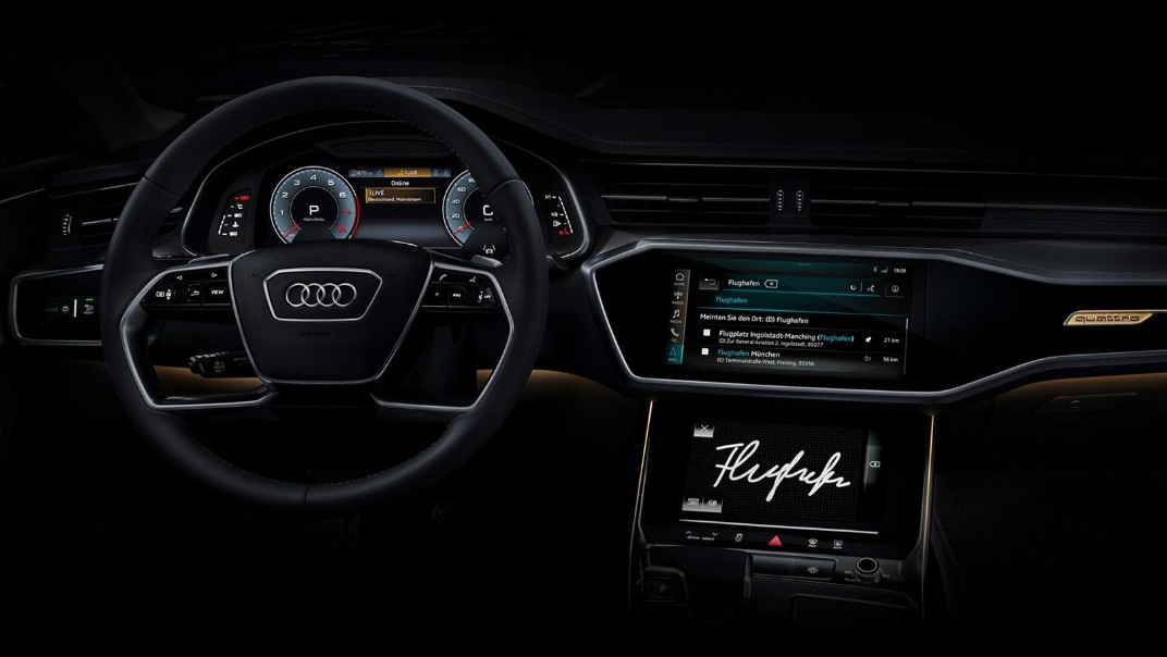 Audi A7 Sportback Public 2020 Interior 005