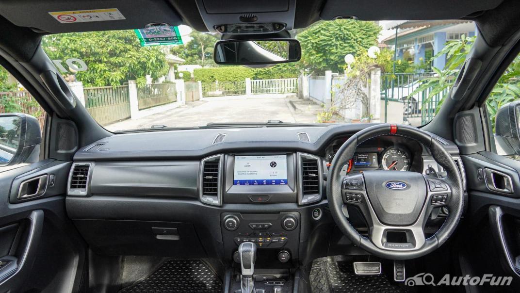 Ford Ranger Raptor 2.0L EcoBlue Interior 001
