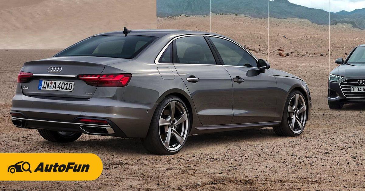 ข้อดีข้อเสียที่ควรรู้ก่อนถอย Audi A4 Sedan 01