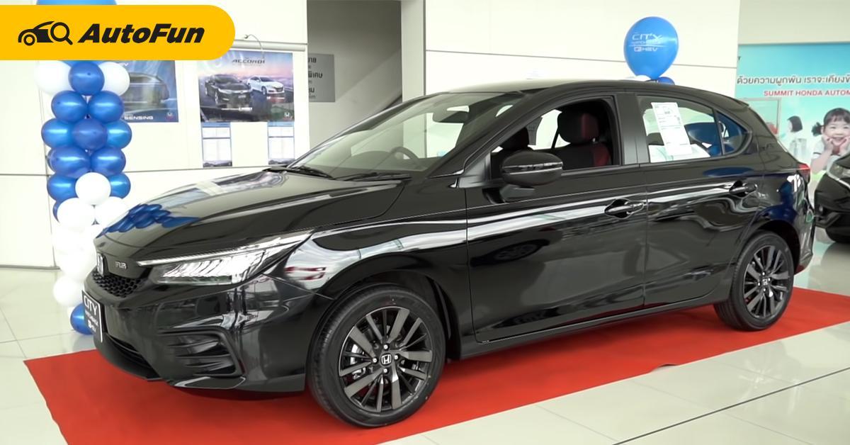 รีบขายเดี๋ยวนี้เลย! ทำไมคนญี่ปุ่นอยากได้ 2021 Honda City Hatchback e:HEV 01