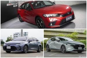 เทียบแคมเปญ C-Segment สุดฮอตประเทศไทย Honda Civic, Toyota Corolla, Mazda 3 ใครดี ใครโดน