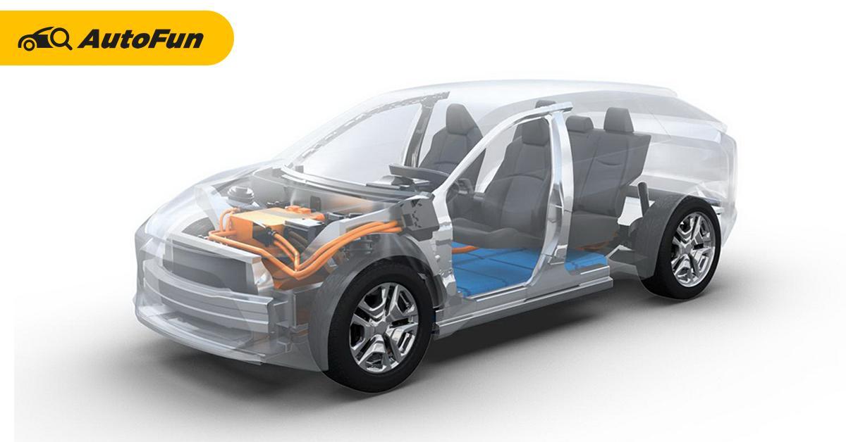 เปิดจุดเด่นแพลตฟอร์ม e-TNGA ของ Toyota อาจใช้กับ Camry EV และ Corolla Cross EV? 01