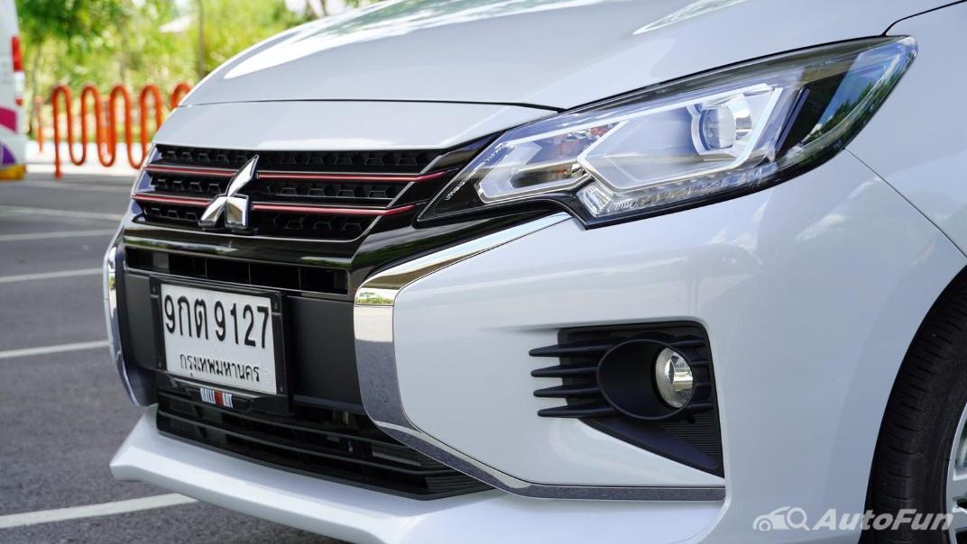 2020 1.2 Mitsubishi Attrage GLS-LTD CVT Exterior 017