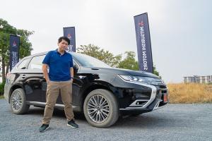 2020 Mitsubishi Outlander PHEV และเรื่องที่น่าประหลาดใจหลังการลองขับ 200 กิโลเมตร