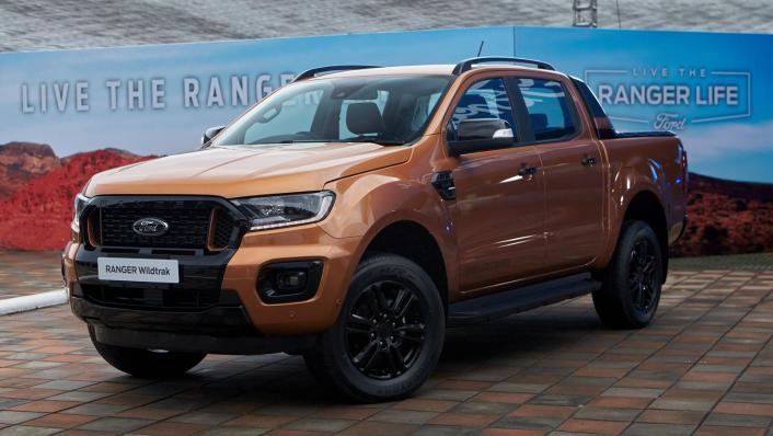 2021 Ford Ranger Wildtrak Exterior 001