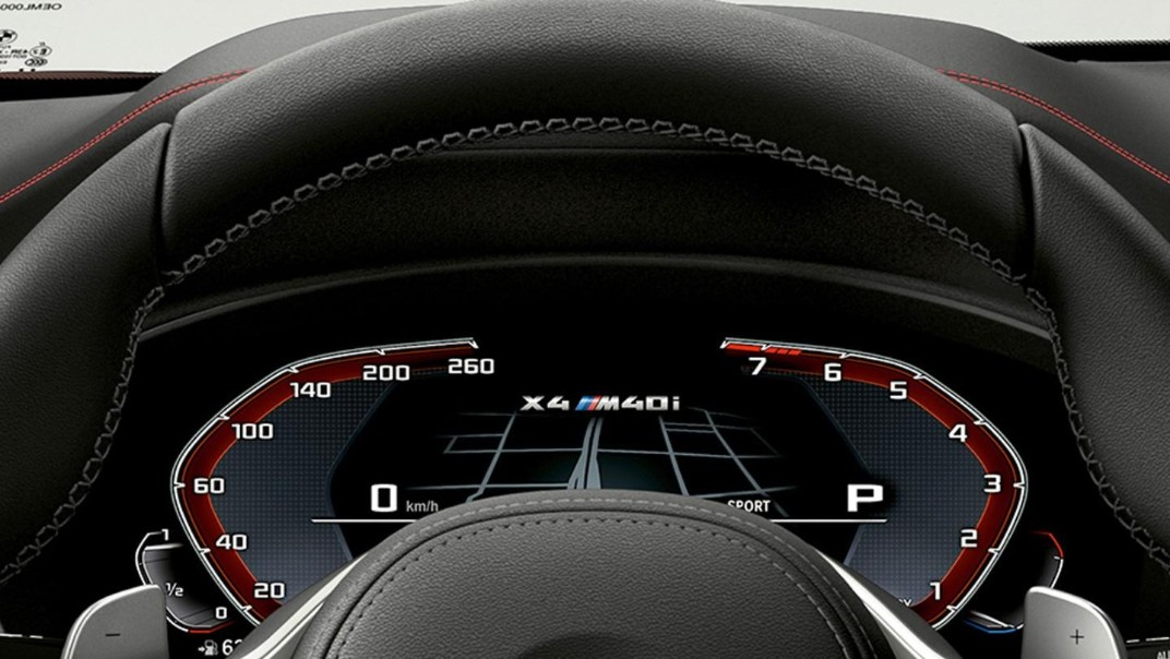 BMW X4 2020 Interior 004