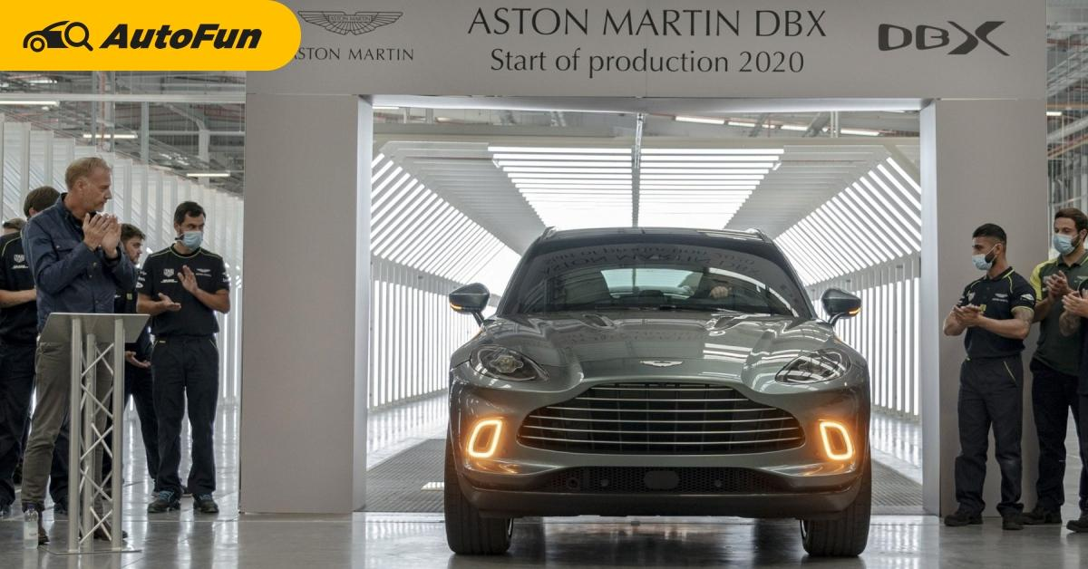 2020 Aston Martin DBX เริ่มส่งมอบรถแล้ว ความหวังของหมู่บ้านที่จะช่วยทำกำไร แต่มาช้าเกินไปหรือไม่ 01