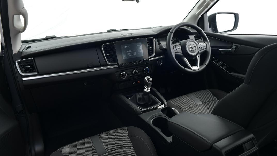 2021 Mazda BT-50 Freestyle cab Upcoming Version Interior 001