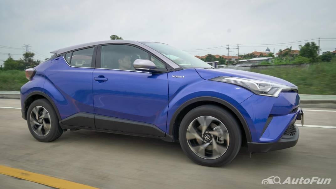 2021 Toyota C-HR Hybrid Premium Safety Exterior 014