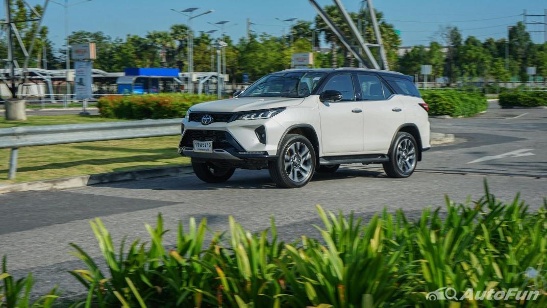 2020 Toyota Fortuner 2.8 Legender 4WD Exterior 042