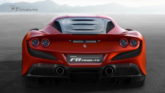 2020 Ferrari F8 Tributo 3.9 V8 Exterior 001