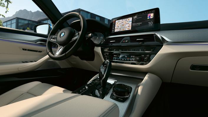 2021 BMW 5 Series Sedan 530e Elite Interior 001