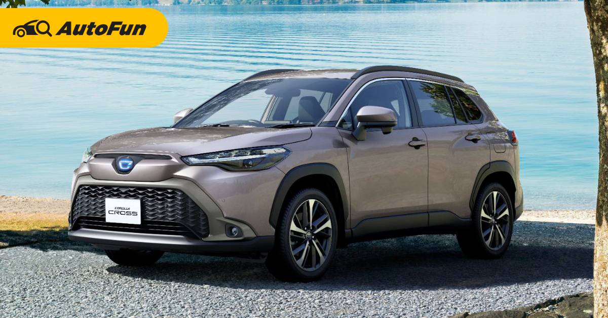 2021 Toyota Corolla Cross ไม่ได้ไร้เทียมทาน ขายดีในญี่ปุ่นแต่ยังห่าง Honda HR-V 01