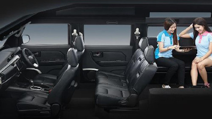 Thairung TR Transformer II 11 Seater 2020 Interior 002
