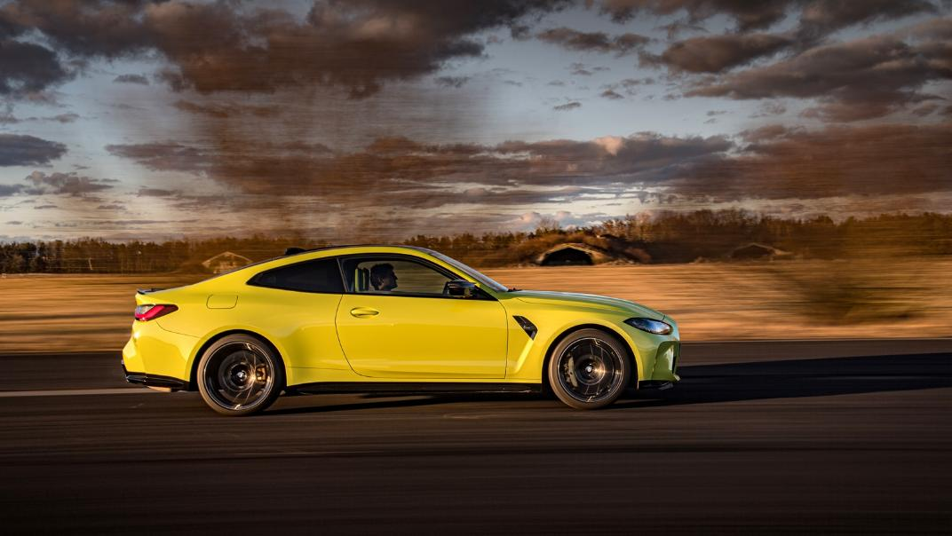 2021 BMW M4 Coupe Competition Exterior 020