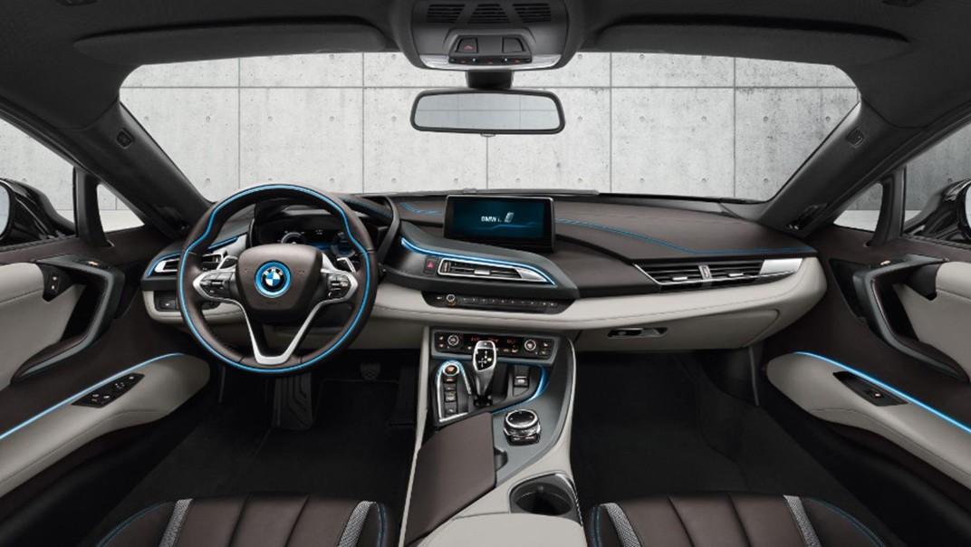 BMW I8 Public 2020 Interior 001