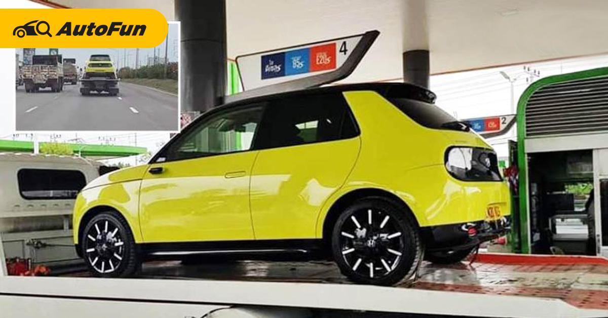 สปายช็อต Honda e ในประเทศไทย มีโอกาสแค่ไหนที่เราจะได้ใช้รถพลังไฟฟ้ารุ่นนี้? 01