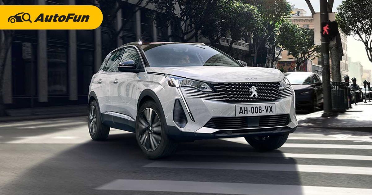 เปิดตัว 2021 Peugeot 3008 ไมเนอร์เชนจ์ หน้าตาสดใหม่ขึ้น ภายในล้ำสมัยกว่าเดิม 01