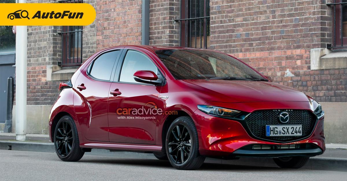 ใครจะซื้อยั้งมือไว้ก่อน! 2022 Mazda 2 ใหม่มีไฮบริดชัวร์ปีหน้า รถไฟฟ้าตามมาเร็ว ๆ นี้ 01