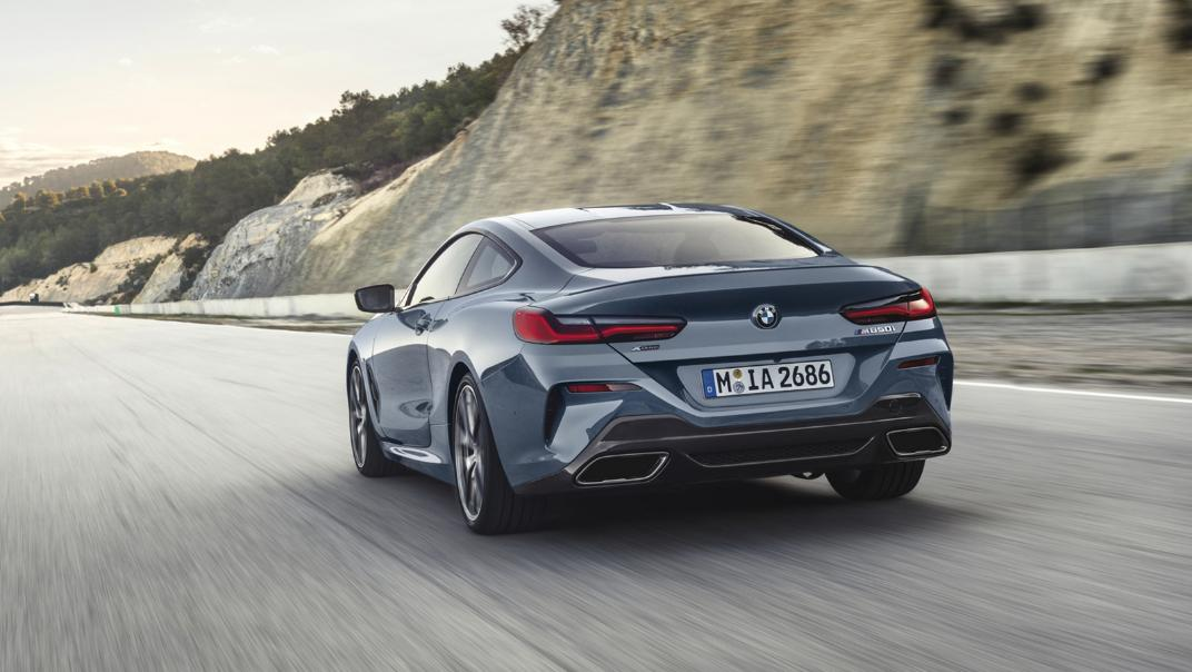 2021 BMW 8 Series Coupe M850i xDrive Exterior 012