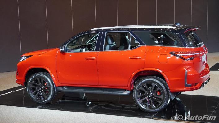 2021 Toyota Fortuner 2.8 GR Sport 4WD Exterior 006