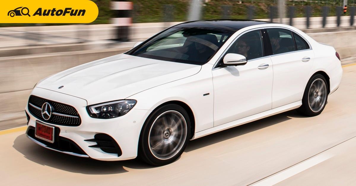 1st Impression 2021 Mercedes-Benz E300 e AMG Dynamic เพิ่มของเล่นท้าชน 5-Series และ A6 01