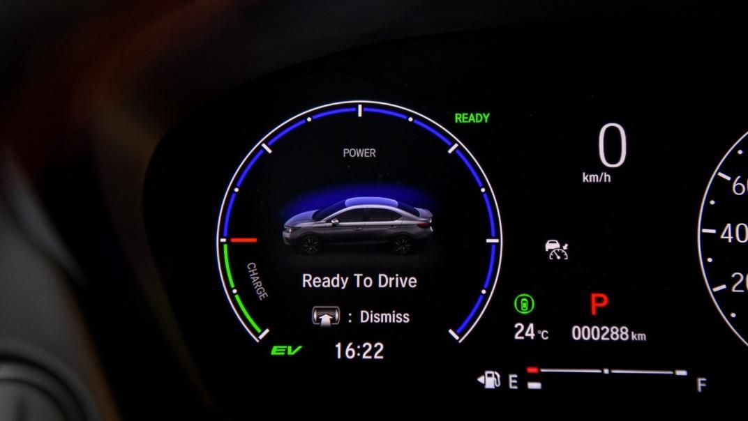 2021 Honda City e:HEV RS Interior 073