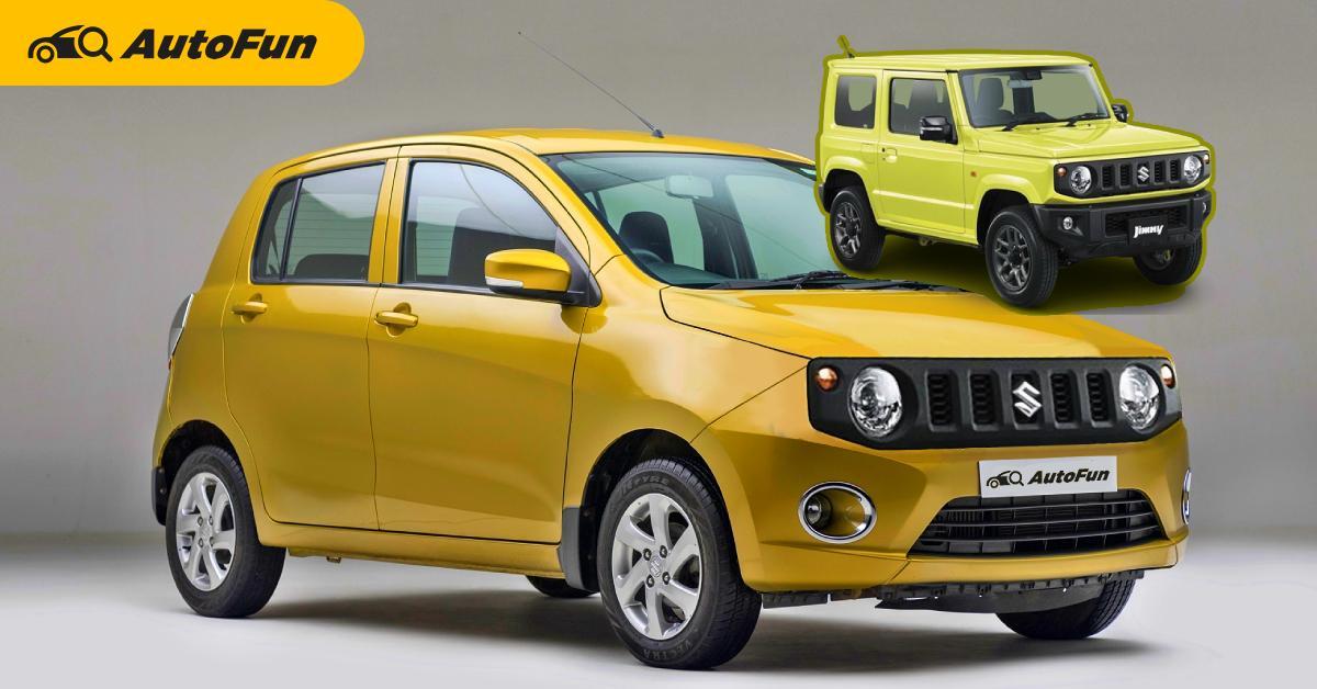 Rendered : 2021 Suzuki Celerio Jimny รุ่นเล็กแปลงหน้าเหลี่ยม ไม่ง้อรถราคาล้านกว่าบาท 01