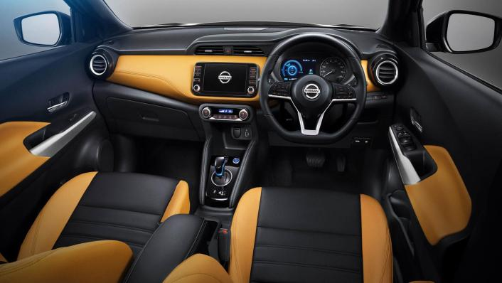 Nissan Kicks 2020 Interior 004