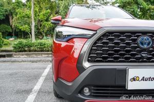 ดูค่าบำรุงประจำปี 2021 Toyota Corolla Cross HV 1.8 พร้อมฟรีเช็คระยะ 5 ปี