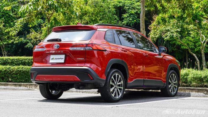 2020 1.8 Toyota Corolla Cross Hybrid Premium Safety Exterior 005