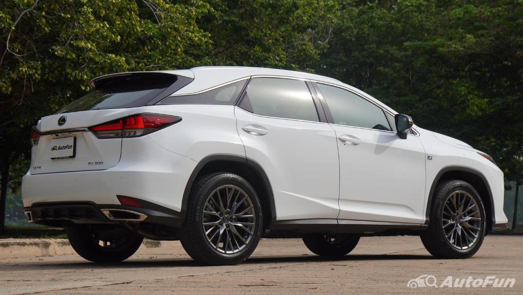2020 Lexus RX 3.5 350 F Sport Exterior 010