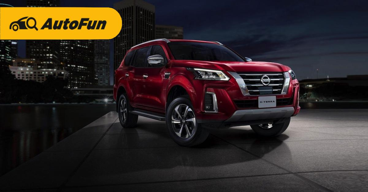 2021 Nissan Terra เผยโฉมรุ่นใหม่จะสู้คู่แข่งอย่าง Toyota Furtuner ได้หรือไม่? 01