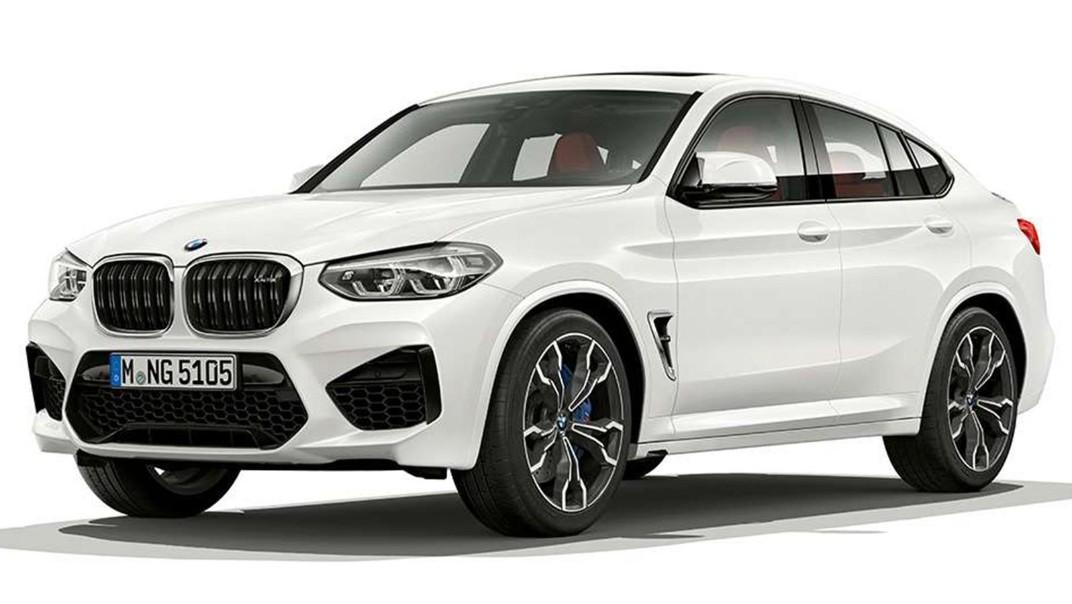 BMW X4-M 2020 Exterior 012