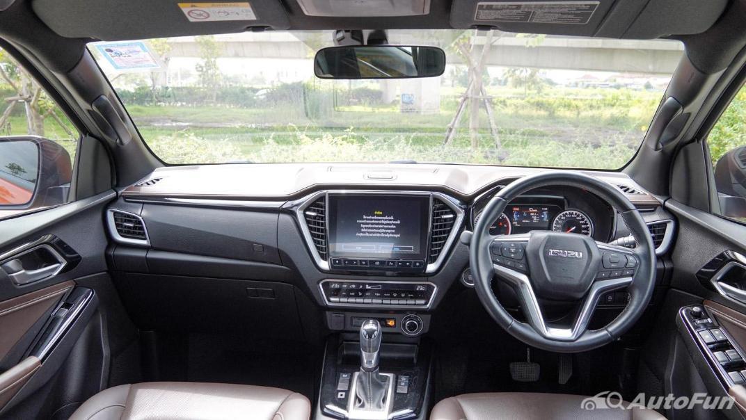 2020 Isuzu D-Max V-Cross 3.0 Ddi M AT 4-Door Interior 001