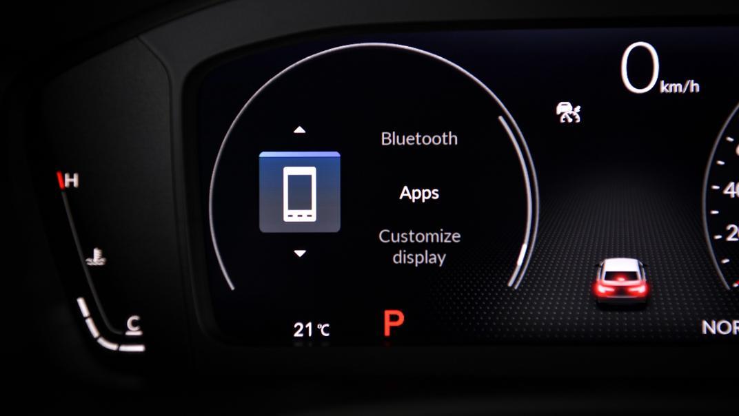 2022 Honda Civic RS Interior 041