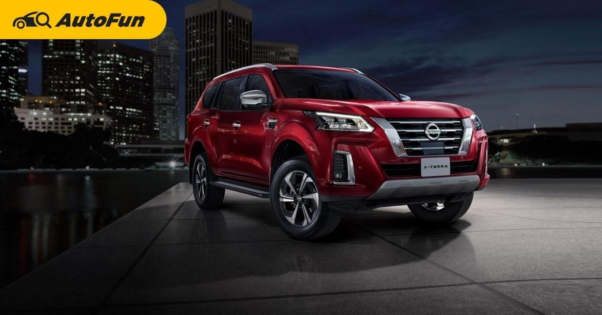 มาแล้วว่าที่ 2021 Nissan Terra เล็งติดท็อป 3 เบียดกระเด็น Mitsubishi Pajero Sport – Ford Everest 01