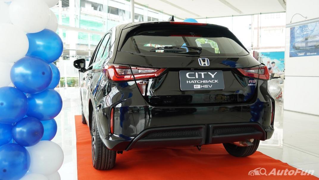 2021 Honda City Hatchback e:HEV RS Exterior 055