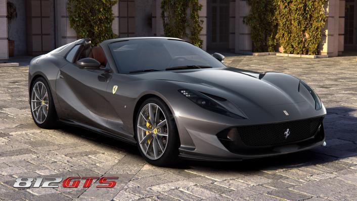 2020 Ferrari 812 GTS 6.5L Exterior 004