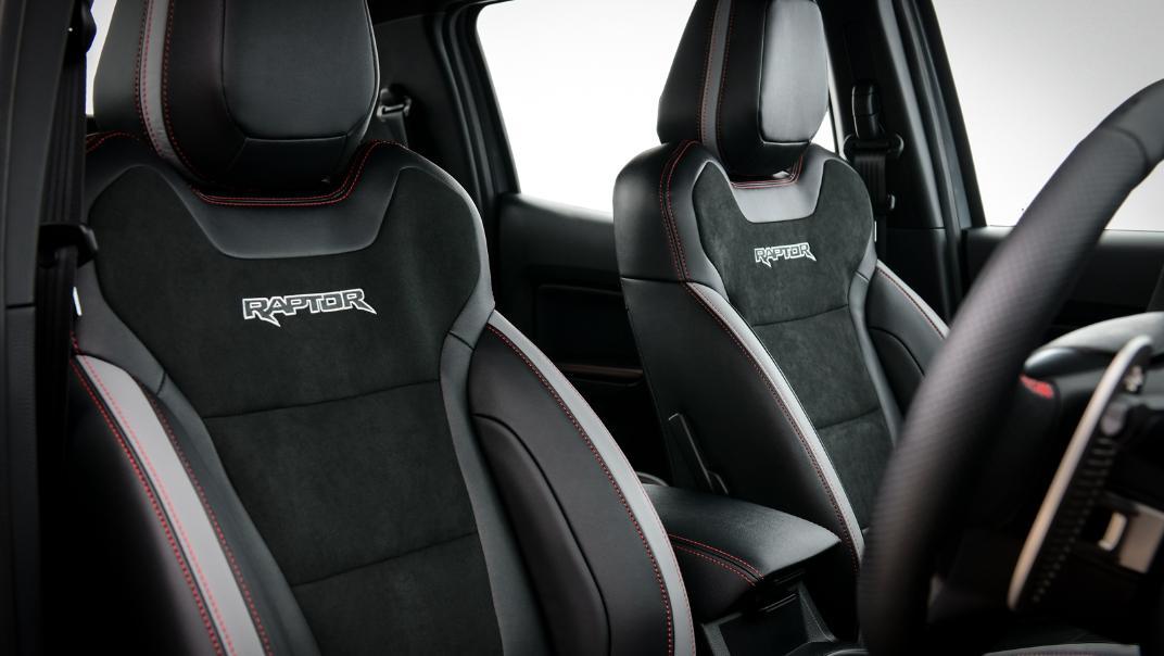 2021 Ford Ranger Raptor X Interior 006