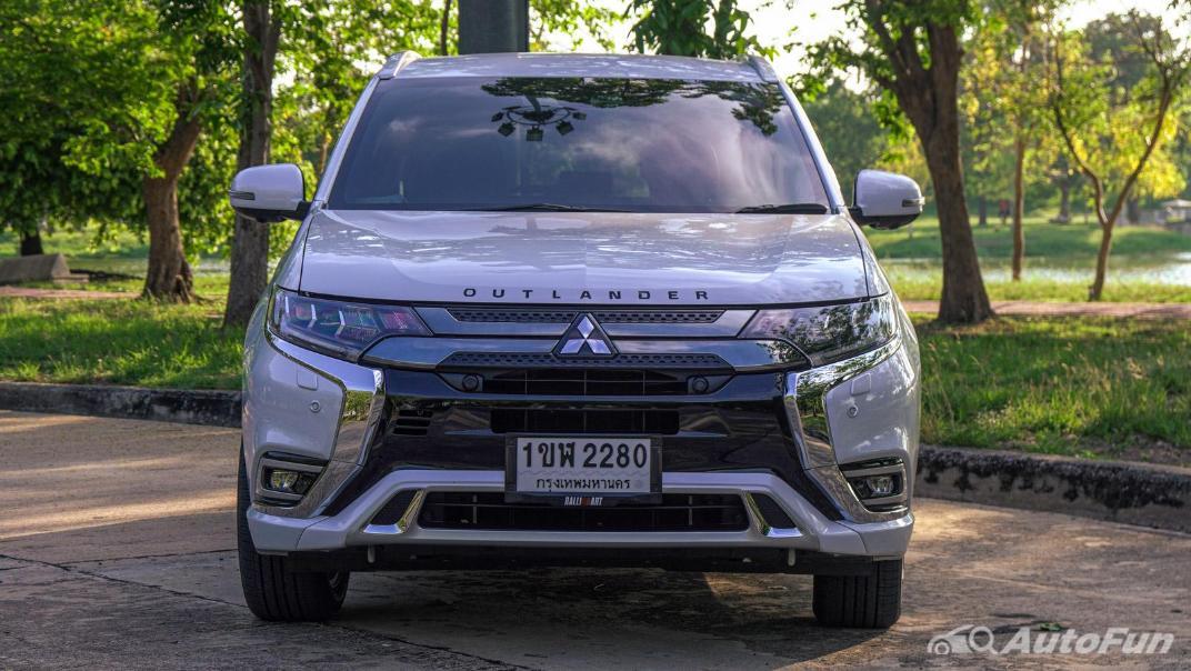 2021 Mitsubishi Outlander PHEV GT-Premium Exterior 001